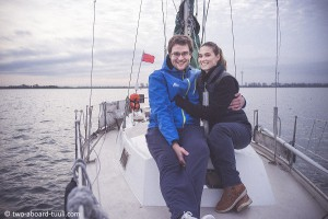 Two aboard Tuuli | Interview